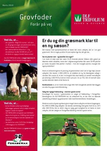 Grovfoder - DLF-TRIFOLIUM Denmark