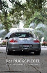 Volume 38 Issue 9, September 2011 - Maumee Valley - Porsche ...