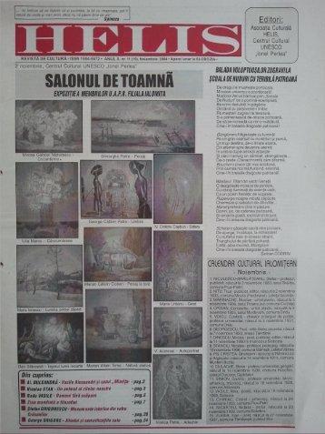 Spinoza Editori: - Revista HELIS