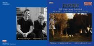 Michael Leibundgut bass Ute Stoecklin piano - Chandos