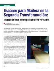 Escáner para Madera en la Segunda Transformación: - Revista El ...