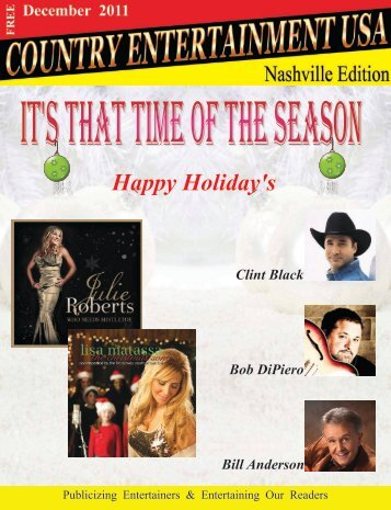 December 2011 Issue - Country Entertainment USA