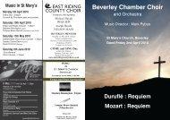 Programme 02 April.indd - Beverley Chamber Choir