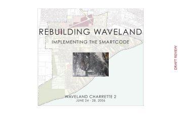 Waveland Charrette Book - Mississippi Renewal