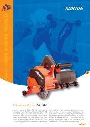Rainureuse Murale SC 180 - Norton Construction Products