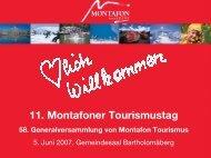 11. Montafoner Tourismustag