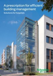 A prescription for efficient building management - Schneider Electric