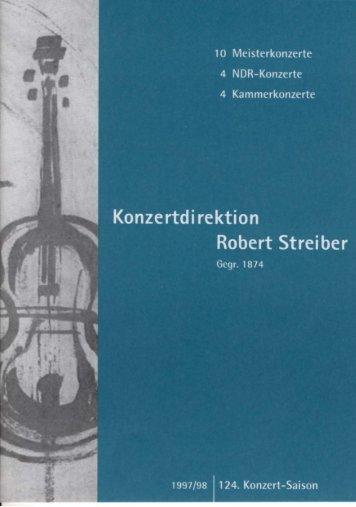 konzertsaison-1997-9.. - Meisterkonzerte Kiel