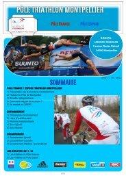 Pôle Triathlon Montpellier - Fédération Française de Triathlon
