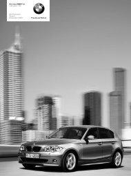 Freude am Fahren Der neue BMW 1er inklusive 118i ... - Lexsystems