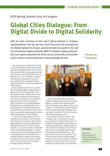 global village and the global digital divide Delivery guide sociology h580 • digital revolution • global village idea of the digital divide and to consider future directions.