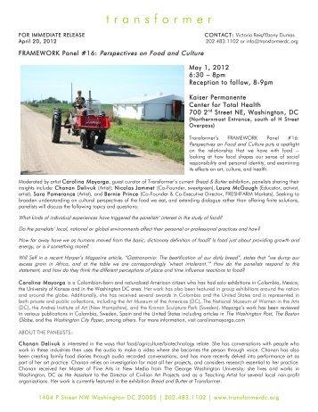 Framework Panel 16 PDF - Transformer