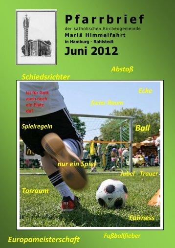 Juni 2012 nur ein Spiel freier Raum Schiedsrichter ... - mahira.de