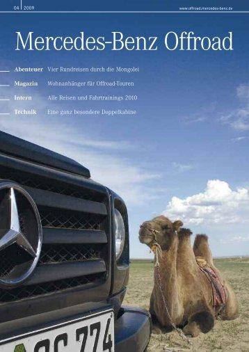 """3&*4& t 53&,,*/( t """"#&/5&6&3 - Mercedes-Benz Offroad"""