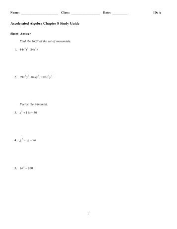 Quiz & Worksheet - Questions on A Separate Peace Ch. 5 ...
