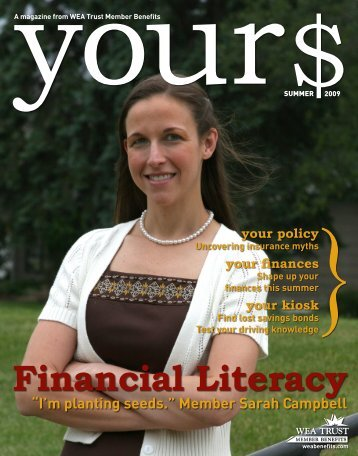 Financial Literacy - WEA Trust Member Benefits