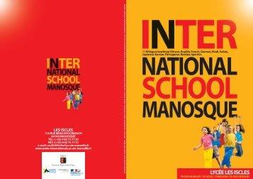 School - Ecole Internationale de Manosque