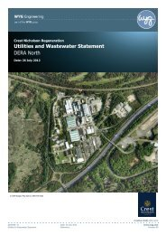 Utilities and Wastewater Statement - Runnymede Borough Council
