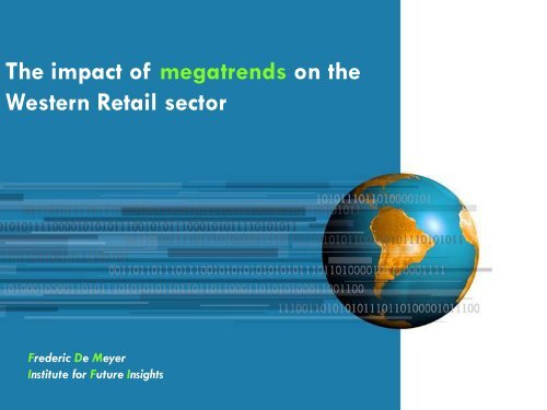 Assessing the impact of Megatrends on your company