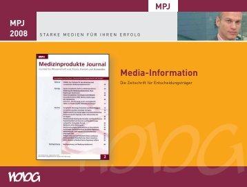 Media-Information - Medizinprodukte Journal