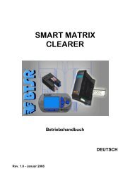 smart matrix clearer tedesco
