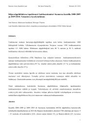 Tiivistelmä alppitrauma SSF 24.5.2012 LH.pdf - Ski Sport Finland ry