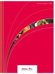 Vuosikertomus 2008 Annual Report 2008 - Atriagroup.com