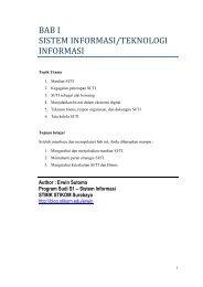 bk01-Manfaat dan Keungggulan SI-TI - Blog Sivitas STIKOM Surabaya