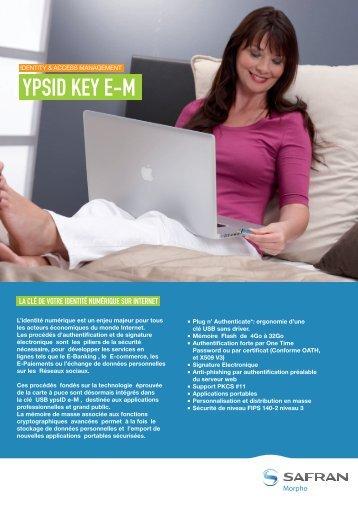 Brochure ypsID Key e-M - Morpho