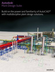 Autodesk® Plant Design Suite - Autodesk International Communities