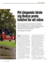 På Långanäs lärde sig Robyn prata istället för att slåss - Statens ...