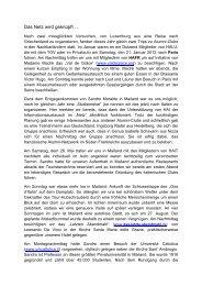 Das Netz wird geknüpft … - Heidelberg Alumni International