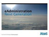 eAdministration Next Generation - Oev-symposium.de