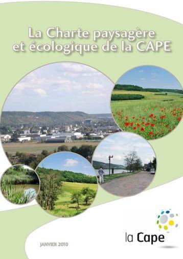 La Charte paysagère et écologique de la CAPE