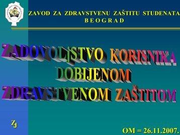 ne - Zavod za zdravstvenu zaštitu studenata-Beograd