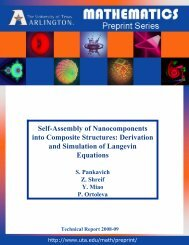 Self-Assembly of Nanocomponents into Composite Structures ...