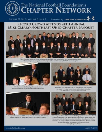 Volume 8, Issue 9 - The National Football Foundation