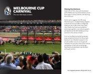 MELBOURNE CUP CARNIVAL
