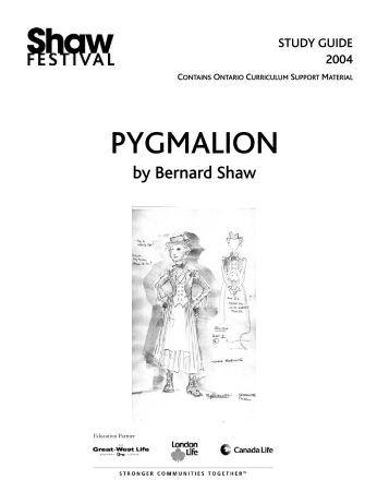 Free Study Guide-Pygmalion by George Bernard Shaw-Free ...