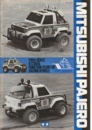Tamiya Mitsubishi Pajero Manual - Wheelsacademy.info