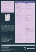 SAGEM CX 2000-4 - Page 2