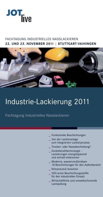 Industrie-Lackierung 2011 - JOTlive