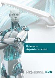 Malware en dispositivos móviles - Eset