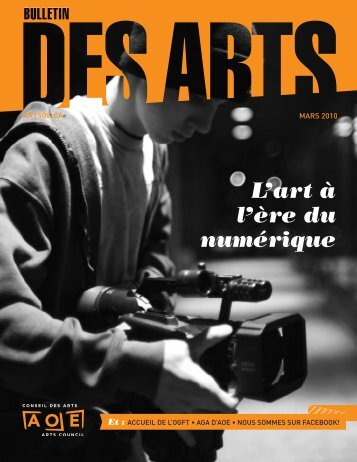 Mars 2010 - Arts Ottawa East / Arts Ottawa Est