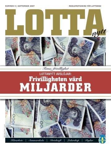 många miljarder - Lottorna