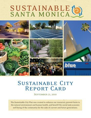 SUSTAINABLE - City of Santa Monica