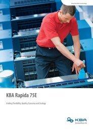 KBA Rapida 75E - Reprocentre