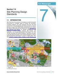 Site Planning Design Standards - The USARAK Home Page
