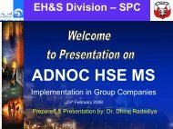 ADNOC HSE MS