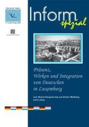 Ausgabe 005-2013 (Heft Nr.: 078) - Deutscher Verein Luxemburg